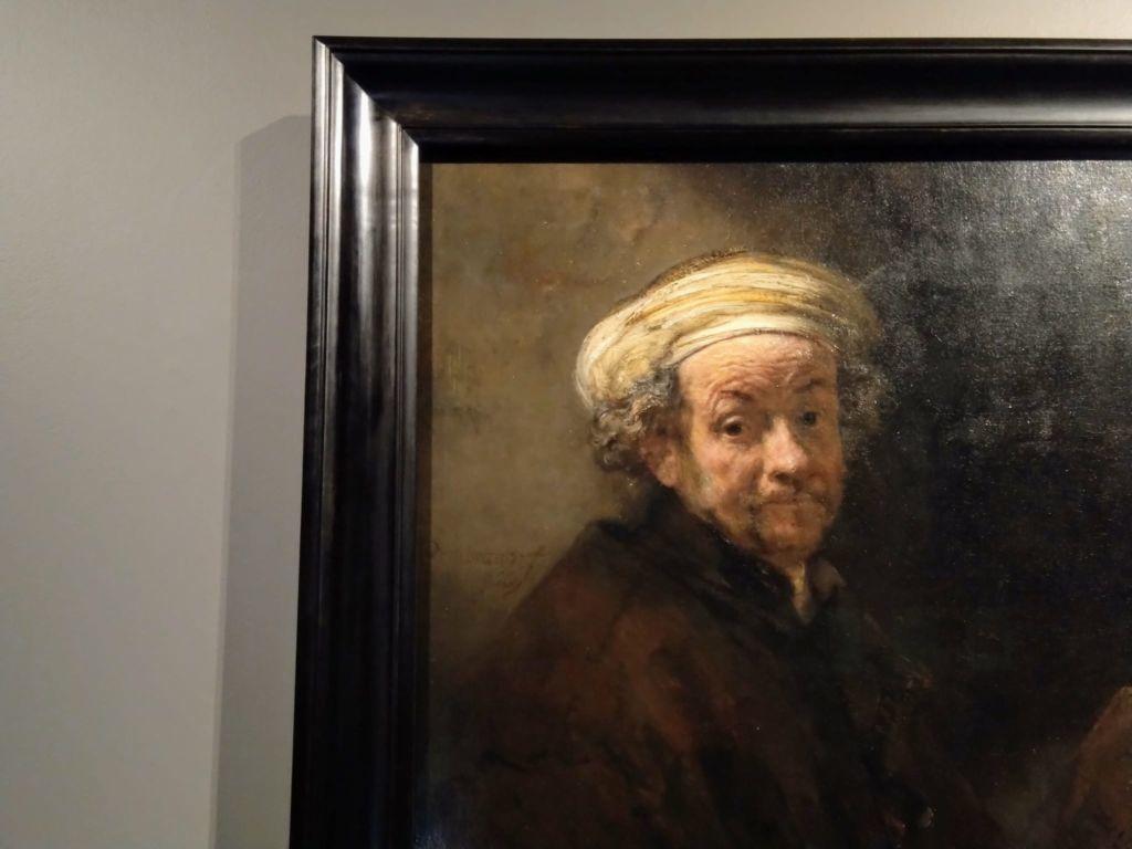 Lo sguardo del vecchio Rembrandt