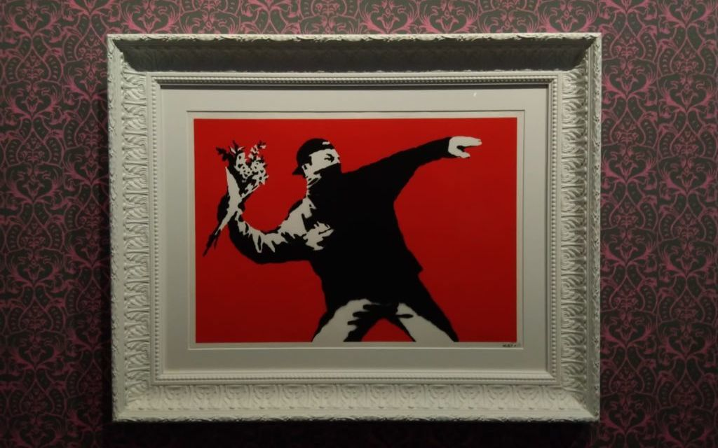 Visual Protest, un Chiostro per Banksy