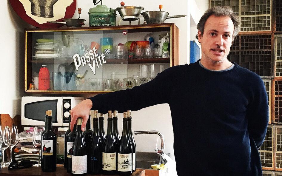 Vento portoghese dalla bottiglia aperta in Lussemburgo
