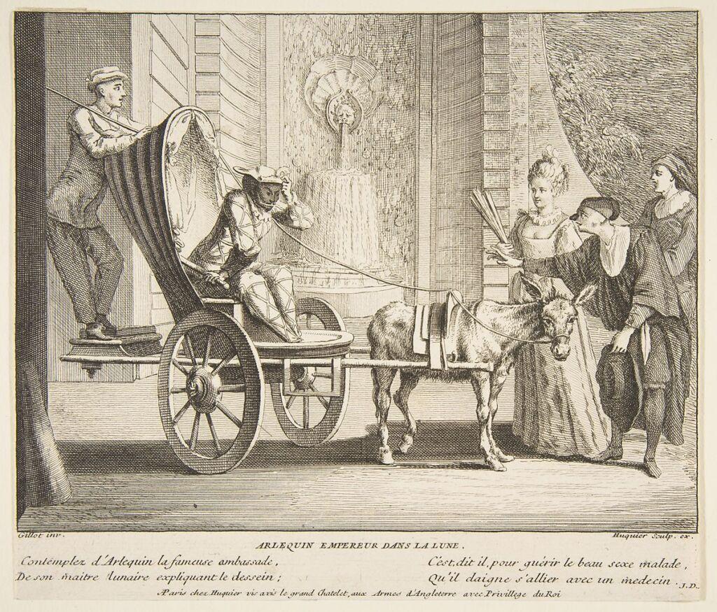 Mattatore - Arlequin, empereur dans la lune - Gillot - dalla Commedia dell'Arte