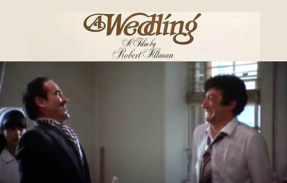 Gassman e Proietti in A Wedding (Un Matrimonio)