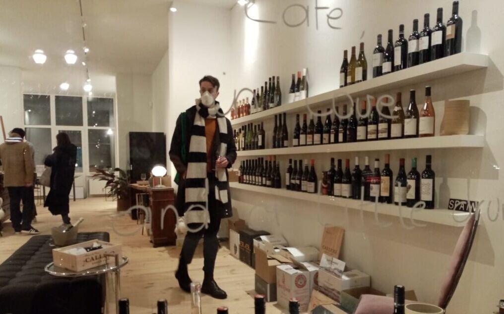 Il vino che evoca Glenn Gould al centro sociale