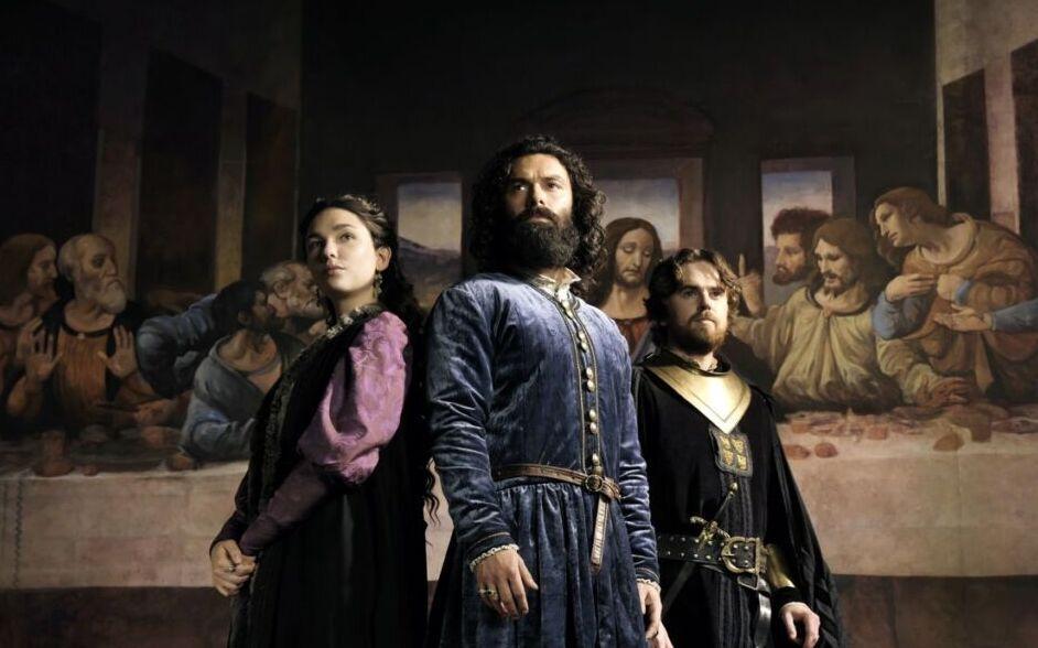 Il Leonardo di Rai1: tartine e prosecco al vernissage del Genio di Vinci